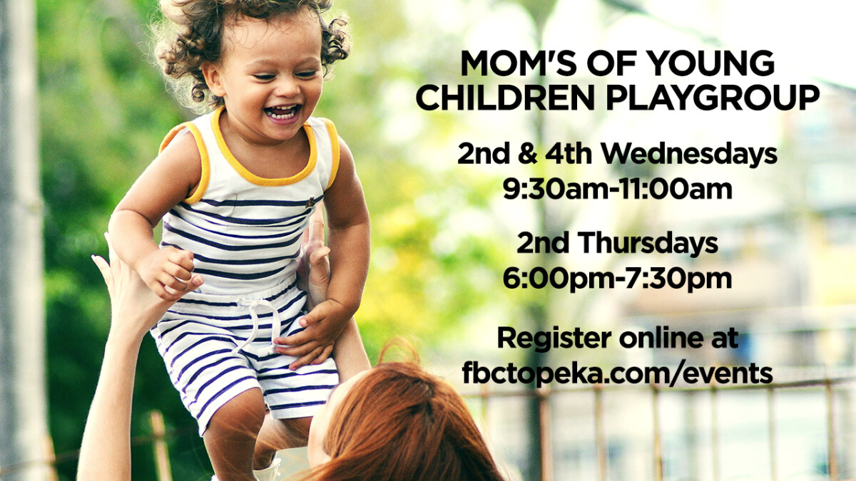 MOM'S OF YOUNG CHILDREN PLAYGROUP