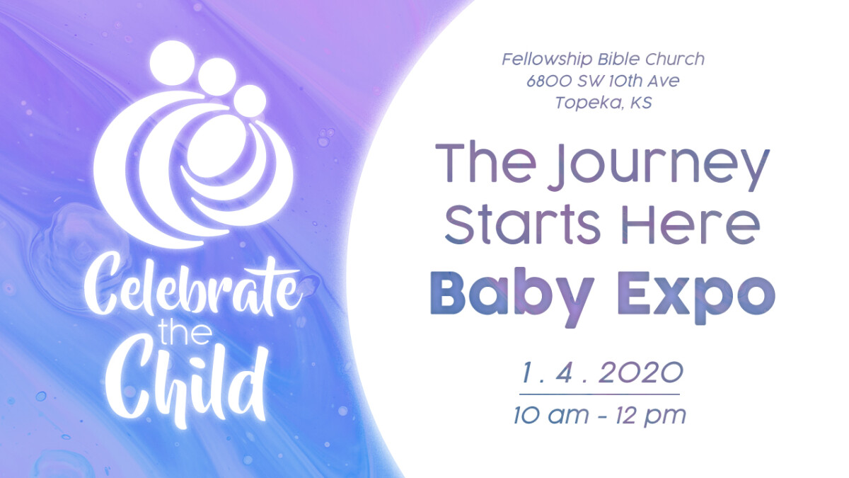 THE JOURNEY STARTS HERE BABY EXPO
