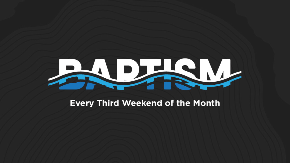 BAPTISM JANUARY 16 AND 17